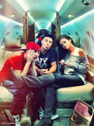 Selena and justin♥