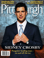 Sid on the cover of Pittsburgh Magazine - December 2010 - sidney-crosby photo