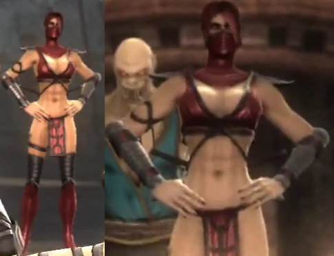 Mortal Kombat Skarlet Hot