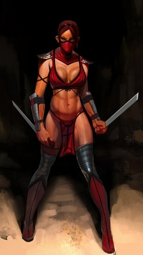 Skarlet - the-ladies-of-mortal-kombat Photo