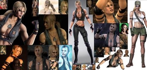 Sonya MK9 Collage