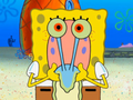 Spongebob as Gary the slak