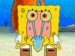 Spongebob as Gary the siput