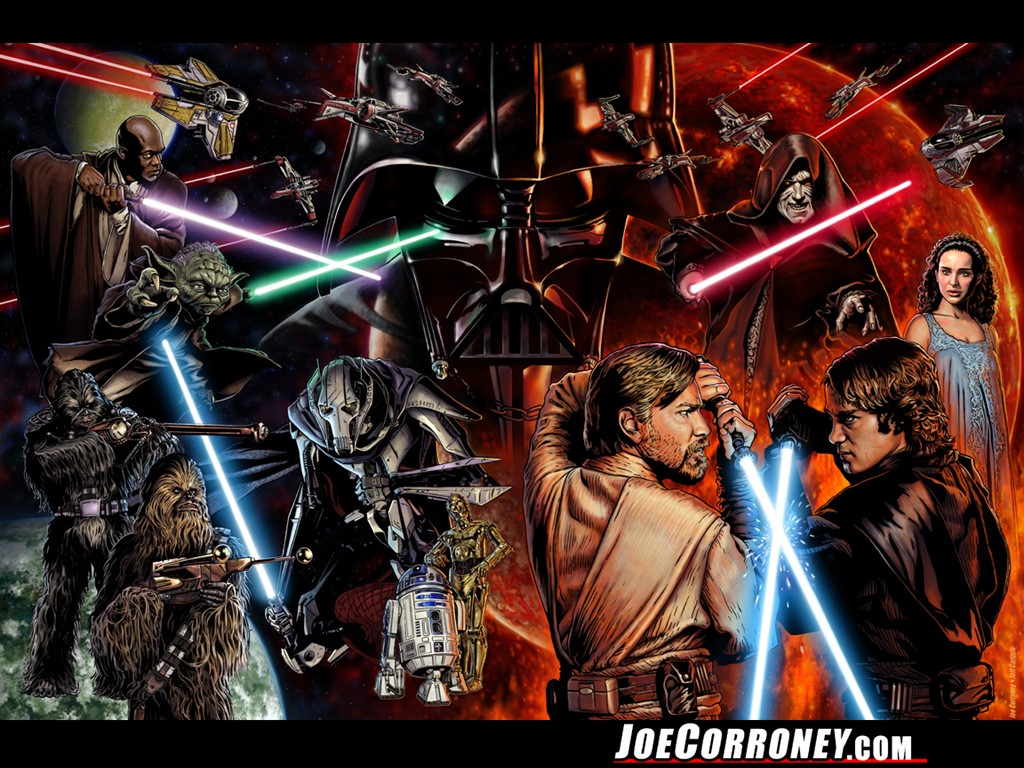 Star Wars Saga Wallpapers - Star Wars Wallpaper (25671347) - Fanpop