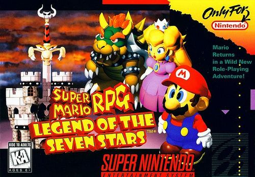 Super Mario RPG karatasi la kupamba ukuta containing anime titled Super Mario RPG: Legend Of The Seven Stars