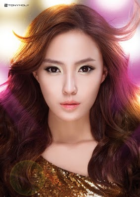 T-ara disco makeup