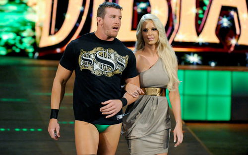Ted DiBiase Jr. and Maryse.