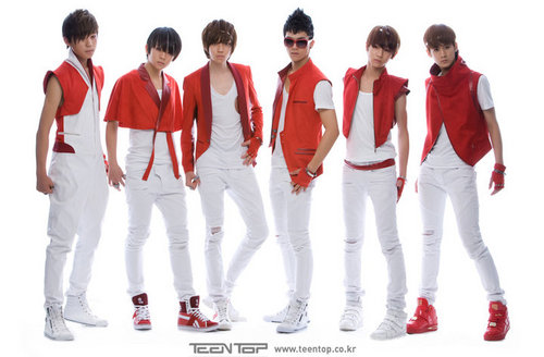 Teen top, boven