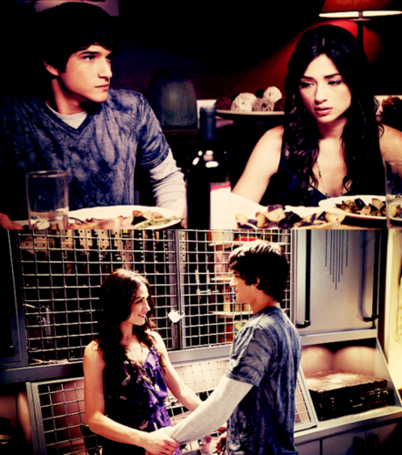 allsoppa wallpaper possibly with a sign titled Teen Wolf! Scott Mccall & Allison Argent 100% Real ♥