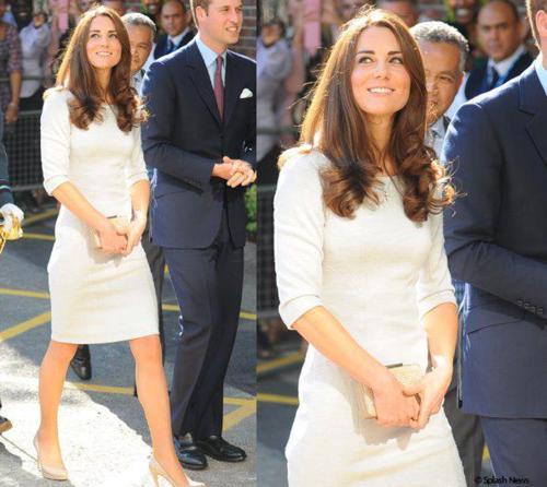 The Duke and Duchess of Cambridge Visit The Royal Marsden Hospital