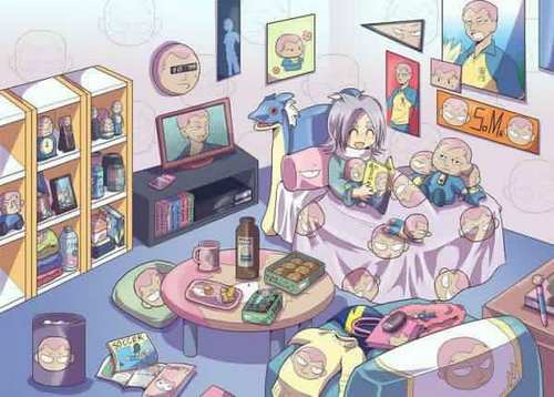 This is Fubuki's room? O_O