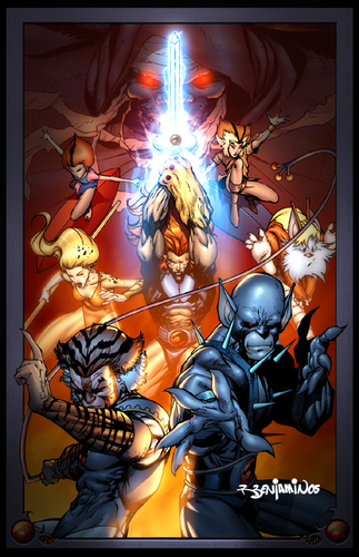 Thundercats wallpaper with anime entitled ThunderCats