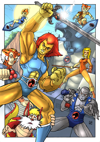 Thundercats wallpaper probably with anime called ThunderCats