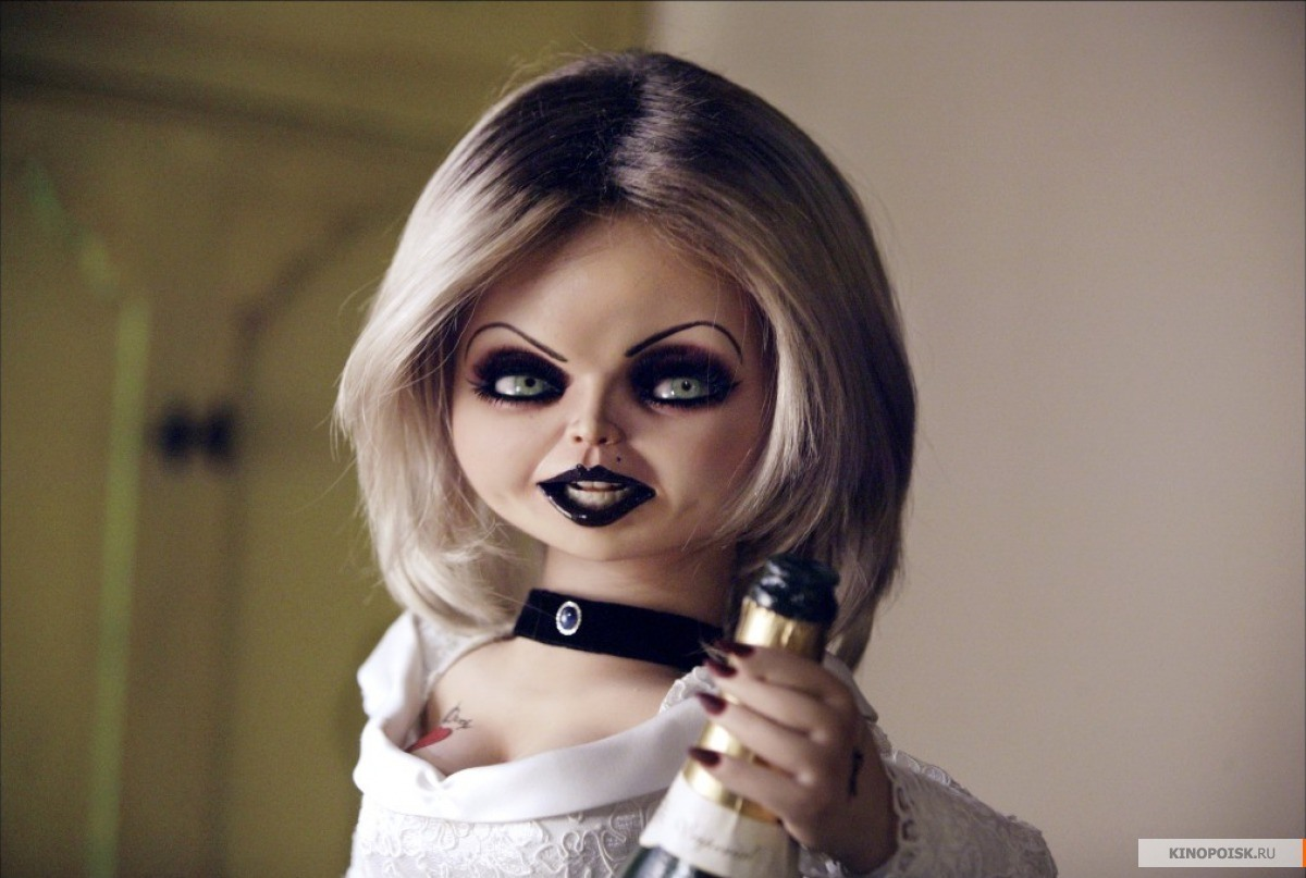 bride of chucky halloween makeup tutorial