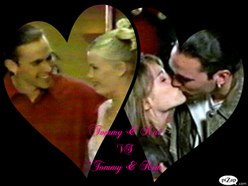 Tommy & Kat VS  Tommy & Kim - the-power-rangers Photo