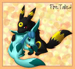 Umbreon and Glaceon.