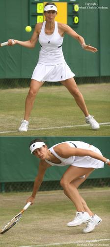 Tsvetana Pironkova in Stress Can Be Ugly