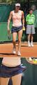 Tsvetana Pironkova in Appealing Serve Approach