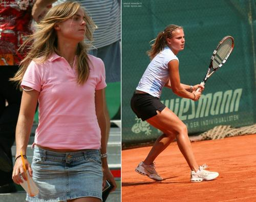 Lina Stančiūtė in Lovely Off Court On