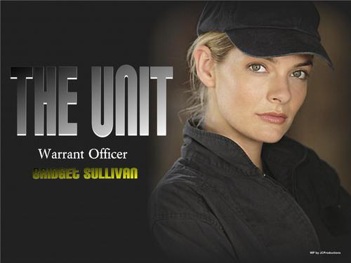 Warrant Officer Bridget Sullivan of The Unit