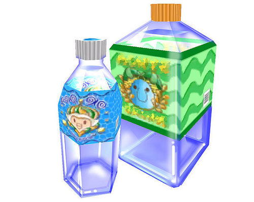 Super Mario Sunshine wolpeyper entitled Water Bottles