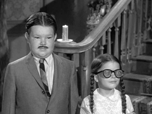 Pugsley & Wednesday - the-addams-family-1964 Photo