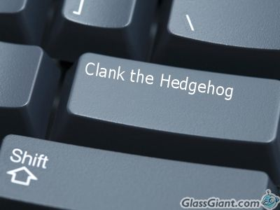 Clank The Hedgehog wallpaper containing a computer keyboard titled What happens if I press this?