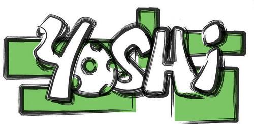 Yoshi karatasi la kupamba ukuta titled Yoshi