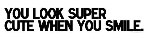 tu Look Super Cute When tu Smile :) 100% Real ♥