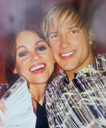 couple with white teeth