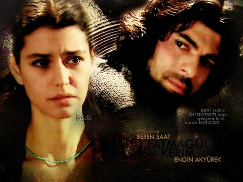Fatmagül'ün Suçu Ne wallpaper with a portrait called fatmagul ve kerim
