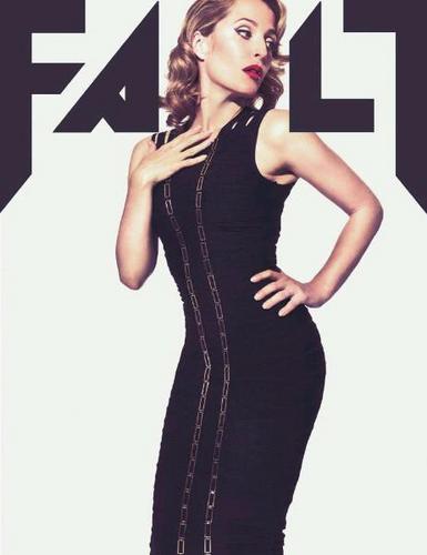 gillian anderson 'Fault magazine'