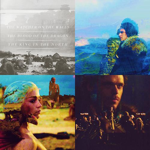 Dany, Jon & Robb