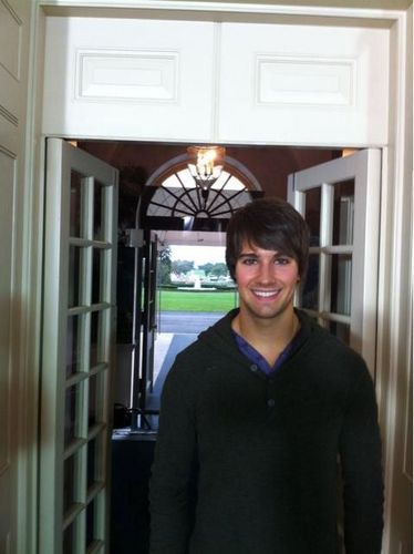 james in white house