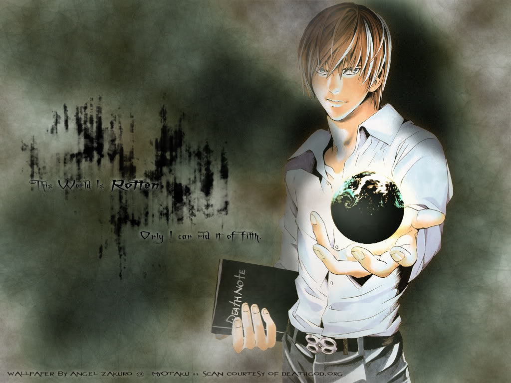 death note light wallpaper - photo #18