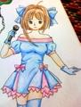 made by me - anime fan art