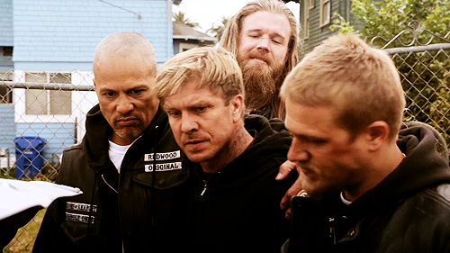 Happy, Kozik, Opie & Jax