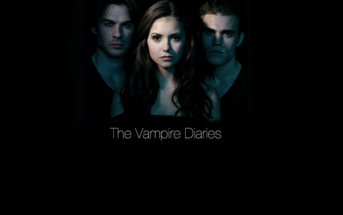The Vampire Diaries kertas dinding titled the vampire diaries