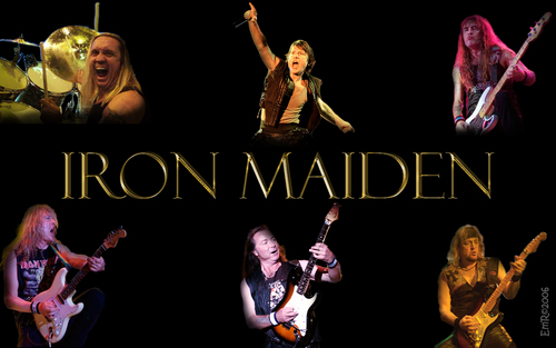 Music wallpaper entitled ☆ Iron Maiden ☆