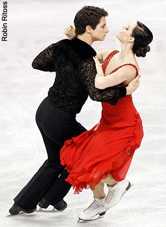 2009 滑冰 Canada Compulsory Dance - Tango Romantica
