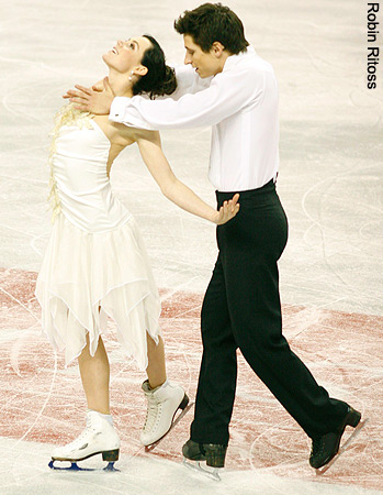 Tessa Virtue & Scott Moir wallpaper called 2009 Skate Canada » Free Dance