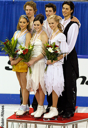 2009 patin, patinage Canada » Medal Ceremony