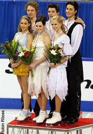 2009 patim, skate Canada » Medal Ceremony