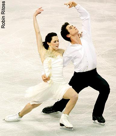 2009 sepatu luncur, skate Canada Practice