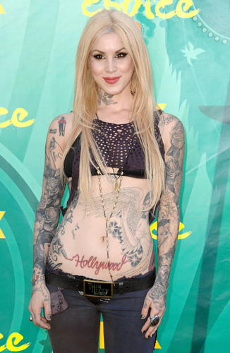 Kat Von D wallpaper entitled 2009 Teen Choice Awards