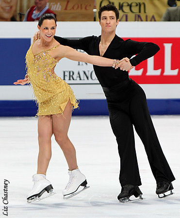 Tessa Virtue & Scott Moir wallpaper called 2011 World Figure Skating Championships - Free Dance