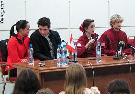 2011 World Figure Skating Championships - Press Conference