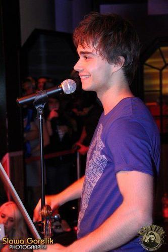 Alex in Rasputin-Club, Germany 1/10/2011 :)