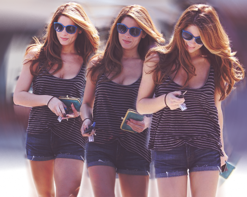 Ashley Greene wallpaper with sunglasses entitled Ashley.