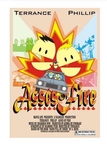 Asses of Fire Poster - south-park Photo